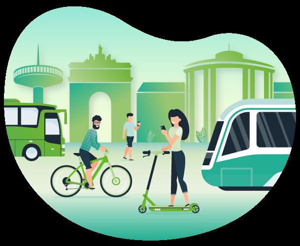 Reto deja tu huella - Movilidad sostenible